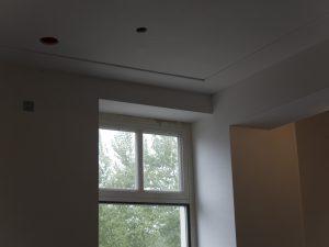 Strakke plafondafwerking